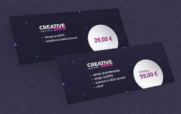Spúšťame predaj. Buďte prvý na CREATIVE summite & EXPO 2019