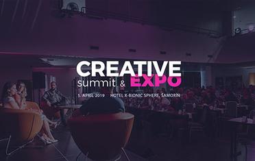 Podrobné organizačné info pre účastníkov CREATIVE summit & EXPO 2019